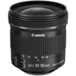 Canon Ef S 10 18mm f 4.5 5.6 IS STM Obiettivo zoom (Nero)