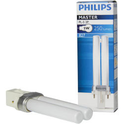 Philips PL S 5W 827 2P (MASTER) Extra Warmweiß 2 Stift