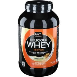 QNT Delicious Whey Protein Creamy Cookie