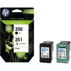 HP 350 351 Cartuccia di inchiostro (multicolore)