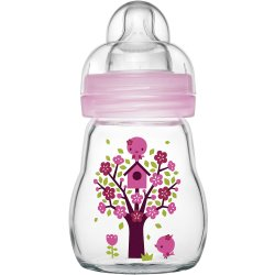 Babyflasche Feel Good 170 ml Glas ab 0M