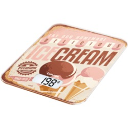 Beurer KS 19 ICE Cream White brown Bilancia da cucina digitale (Multicolore)