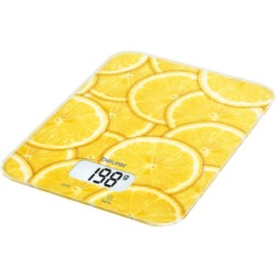 Beurer KS 19 Lemon Bilancia da cucina digitale (Giallo)