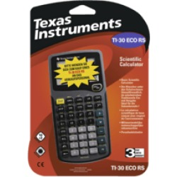 TEXAS INSTRUMENTS TI 30 eco RS Calcolatrice scientifica