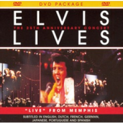 Elvis Lives The 25th Anniversary Concert DVD