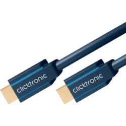 Clicktronic 70304 Cable HS Hdmi 3M Cavo Hdmi ()
